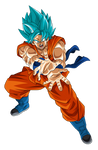 Goku SSGSS Render 6