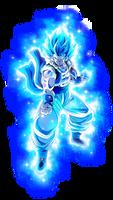 Gogeta SSJ Blue   4 (Con Aura)