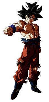 Goku Ultra Instinto | 1 (UI S Anime Palette)