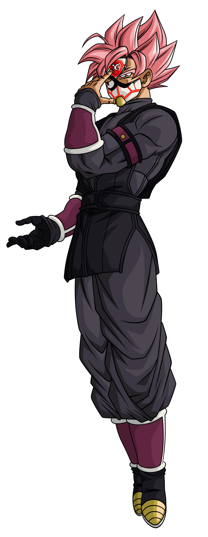 Crimson Masked Saiyan SSJR | 2