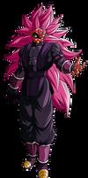 Crimson Masked Saiyan SSJR3 | 1 (Alt. Palette #3)