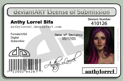 License to Submit by anthylorrel