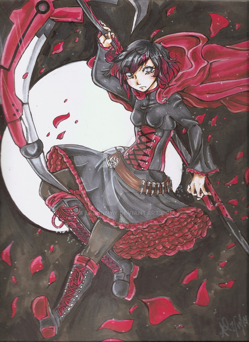.::Ruby Rose::.COPICS. by TeaBunnyy