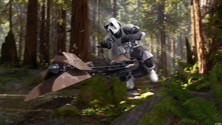 Scout Trooper Speederbiker Endor