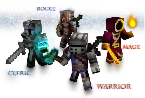 Minecraft heroes by sfrostwing on deviantart