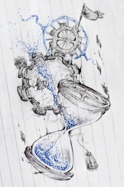 broken hourglass by sfrostwing on deviantart. Black Bedroom Furniture Sets. Home Design Ideas