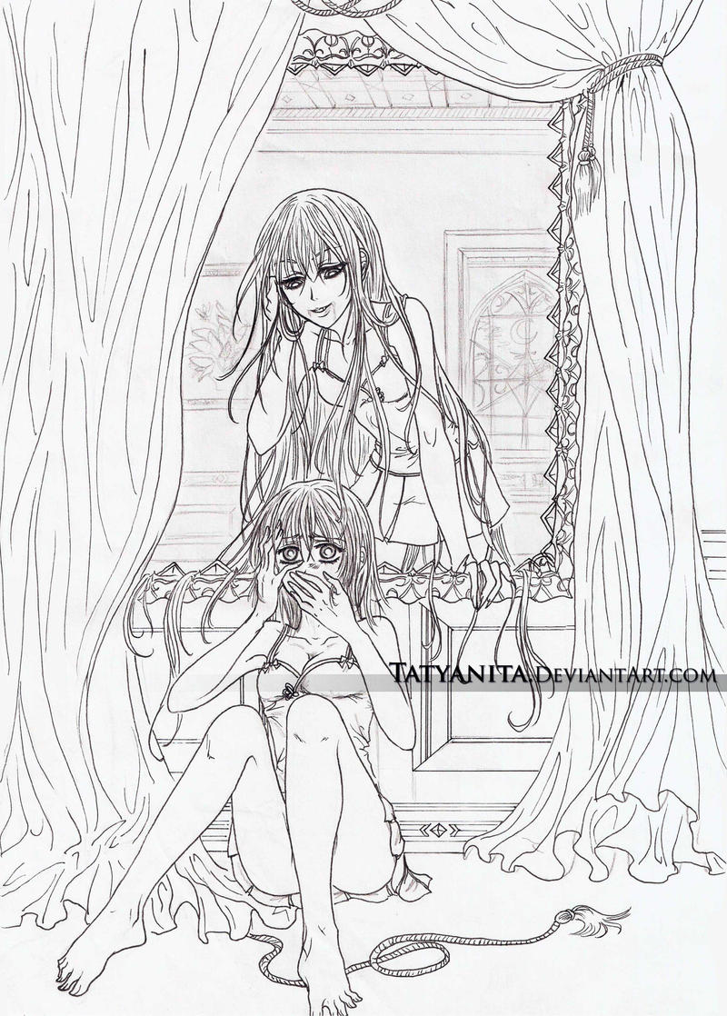 Vampire Knight Coloring Book on CrossAcademyRP DeviantArt