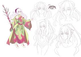 Ara'ainn Character-design by kentusrpg