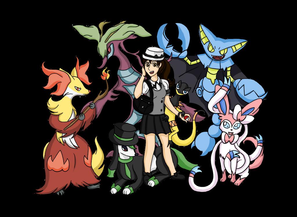 Pokemon X and Y Best Team