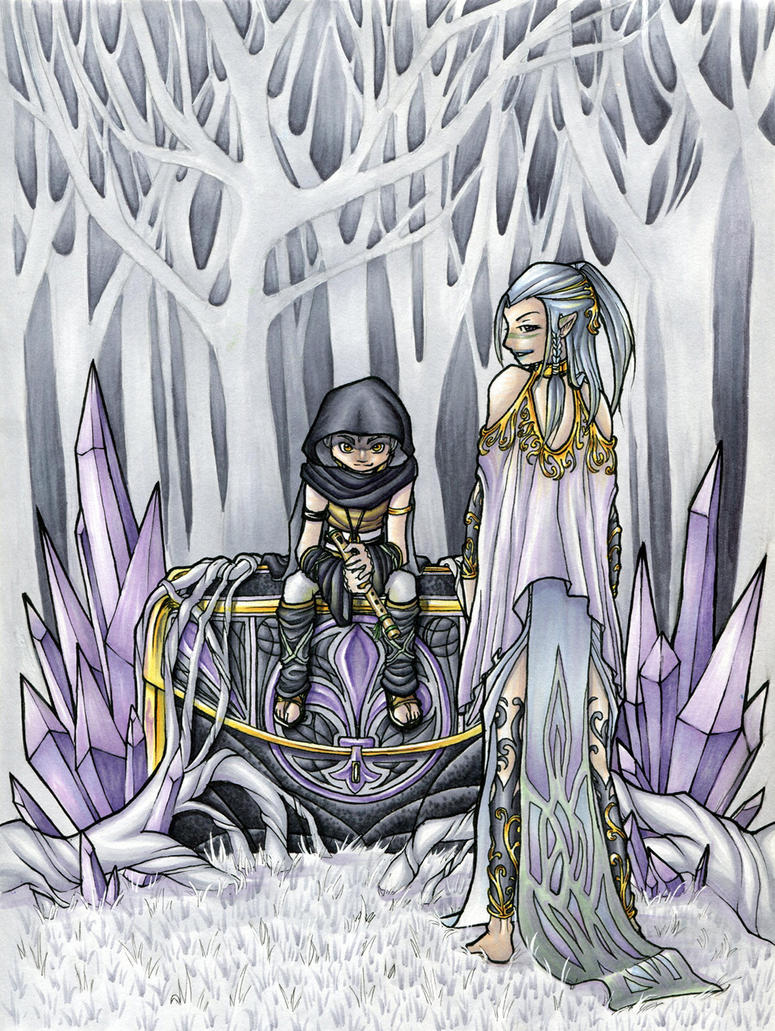 Dark Chest of Wonders by SapphireLily