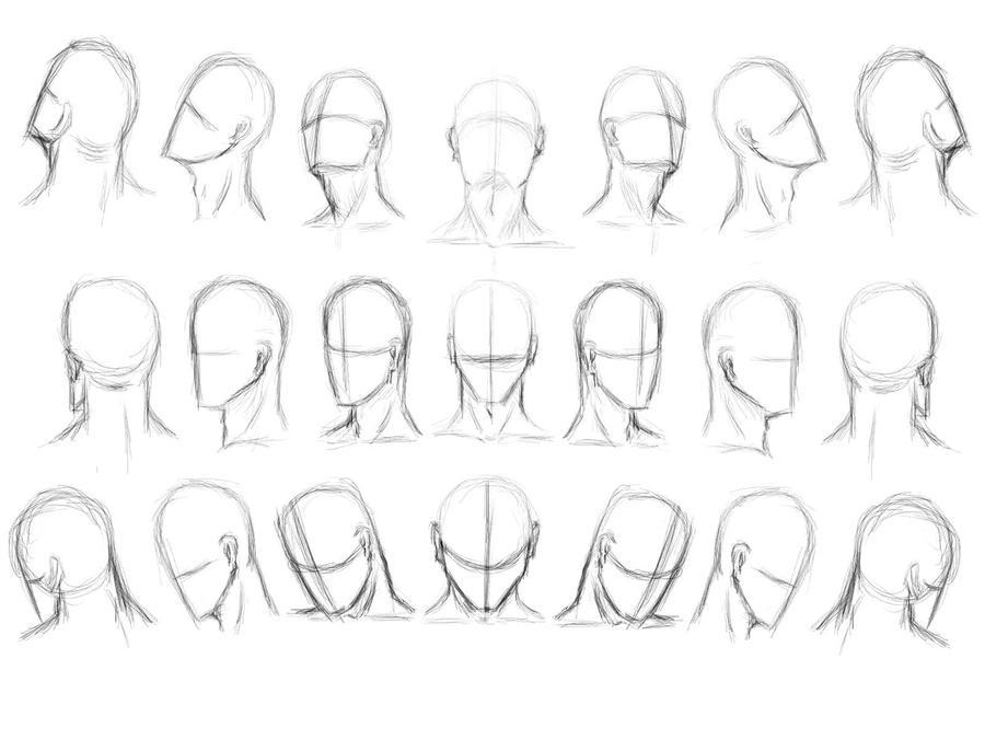 Head study by Ghoopas