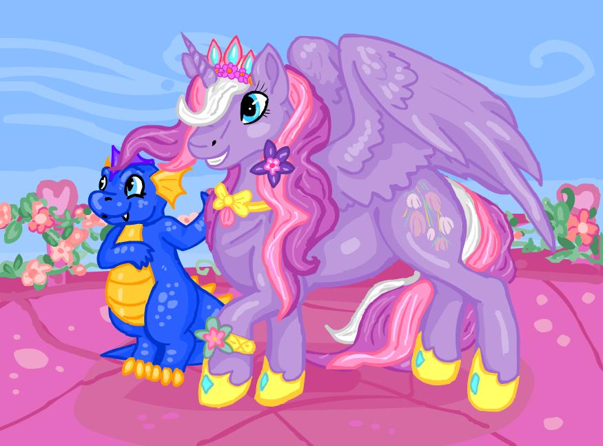 Princess Wysteria by Sharkledog