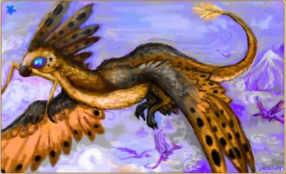 Glitchbird Creature