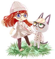Animal Crossing Commission - animalcrossing04uwu