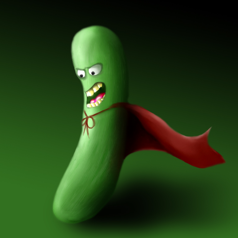 Super Pickle by albundyland