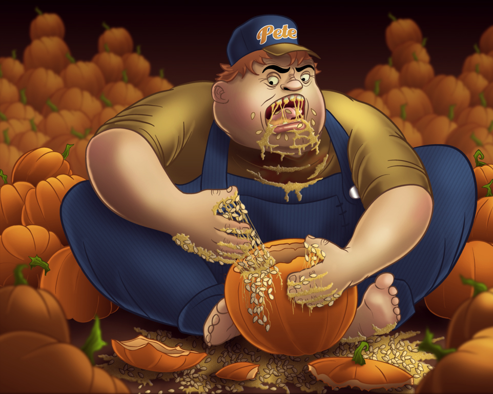 Pumpkin Peter by albundyland