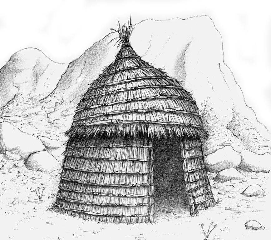 Straw Hut by albundyland on DeviantArt