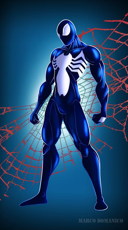 Symbiote Spiderman by albundyland