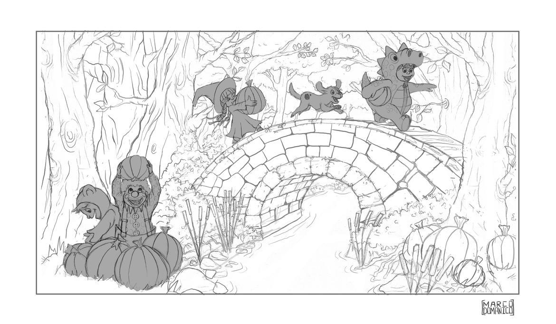 Halloween 2014 Sketch by albundyland