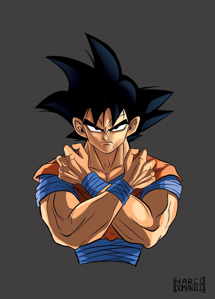 Goku by albundyland