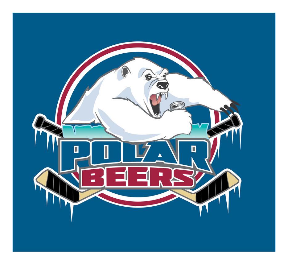 Polar Beers Hockey Logo by albundyland