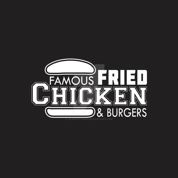 Famous Fried Chicken Logo by albundyland