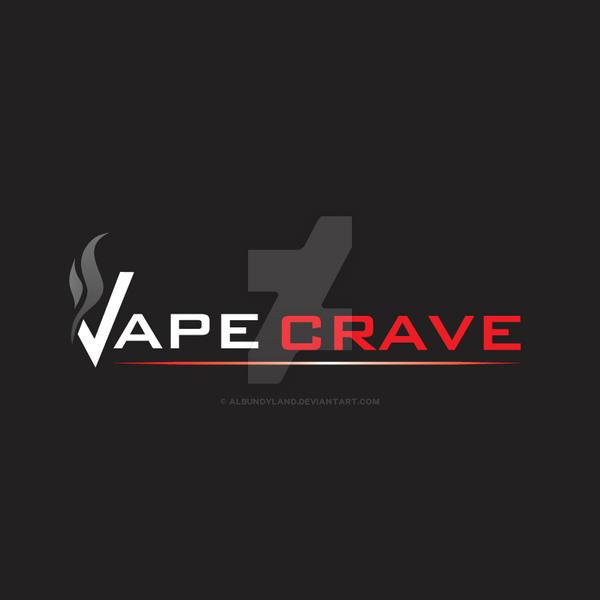 Vape Crave Logo Design by albundyland