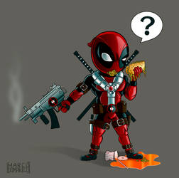 Kid Deadpool by albundyland