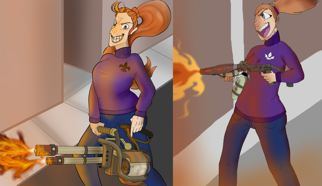 Burn it down comparison by Overeaction1