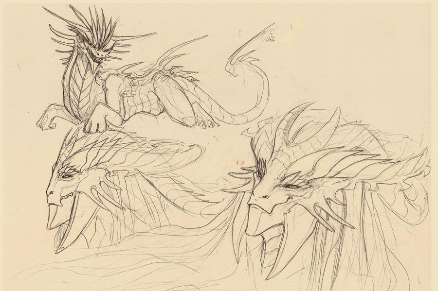 Isar sketch by Dimenran