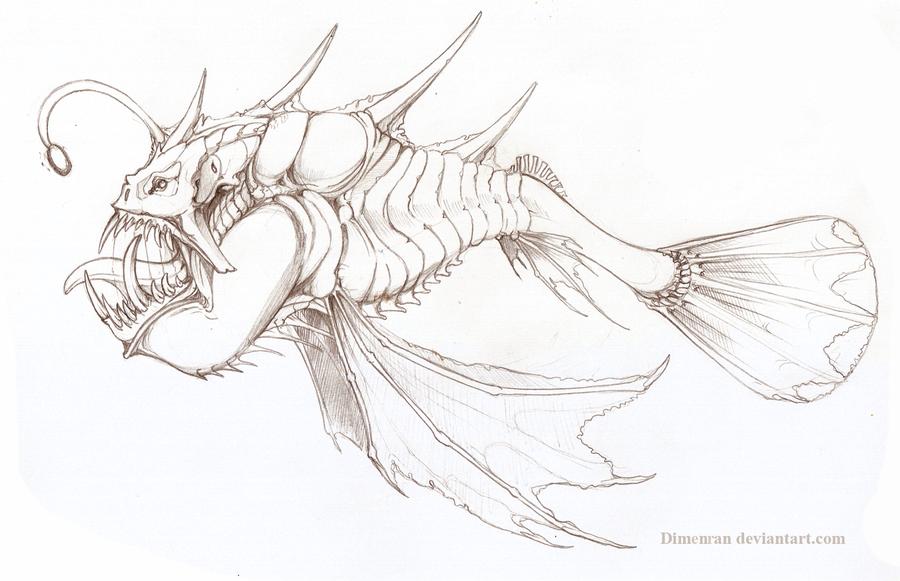 Monster Fish By Dimenran On DeviantArt
