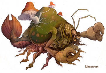 Incredible insect (Color) by Dimenran