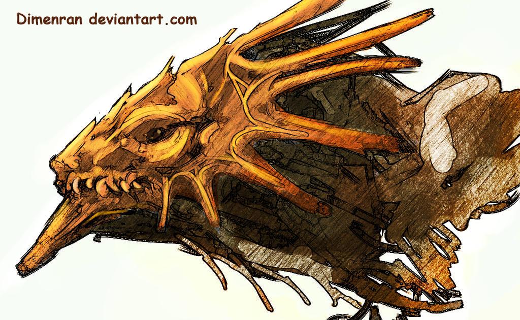 Wooden drake by Dimenran