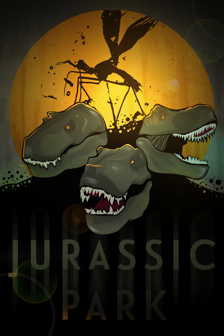 Jurassic Park Tribute by R3volver1