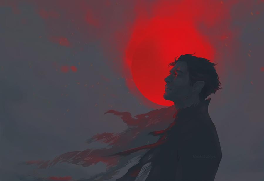 Devils Sun by CorbDuNyx