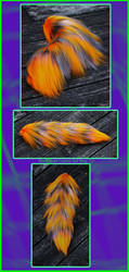FOR SALE: Fall Festival Yarn Tail by Black-Heart-Always
