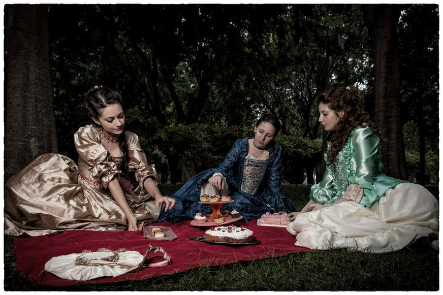18th century picnic by SomniumDantis