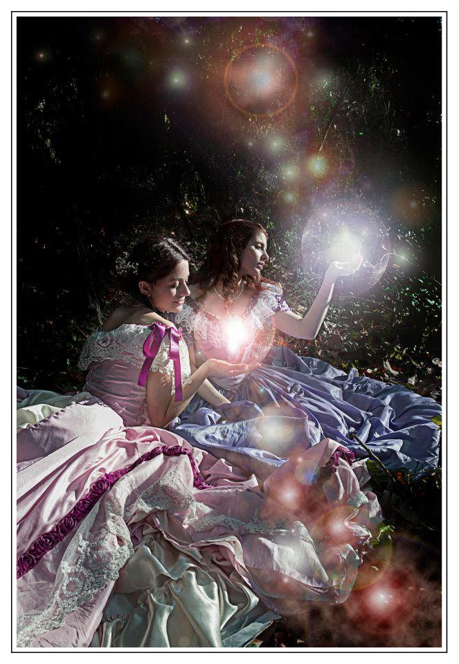 Victorian Cottingley Fairies by SomniumDantis