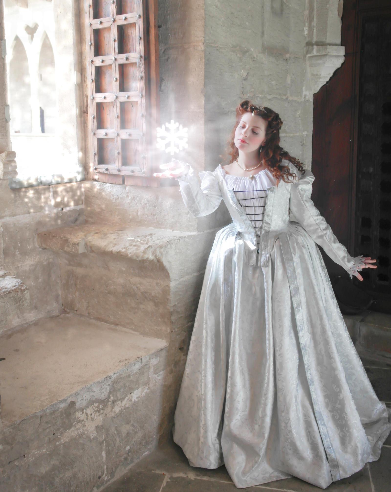 Winter Princess Venetian Gown by SomniumDantis