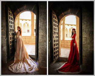 The Red Queen and The White Queen II by SomniumDantis