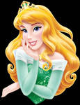 Princess Aurora Bust in Green