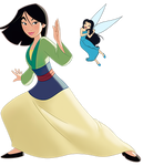 Fairy Princess Series: Mulan and Silvermist #2