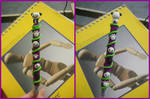 Panda Polymer Clay Pen