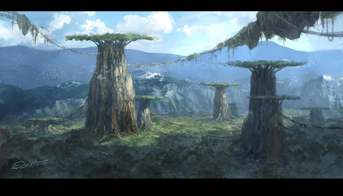 Laputa's world by DangMyLinh