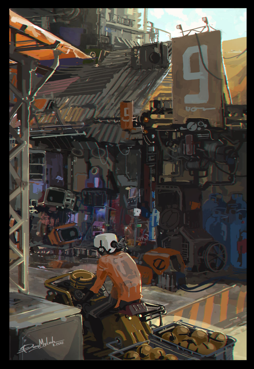 One piece of the slum by DangMyLinh