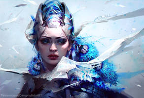 BLUE by DangMyLinh