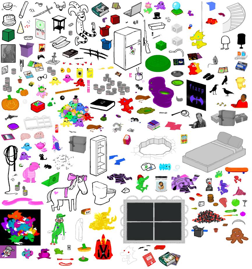 Hs room item sheet by fryingpanismyweapon on deviantart for Stuff for girls room