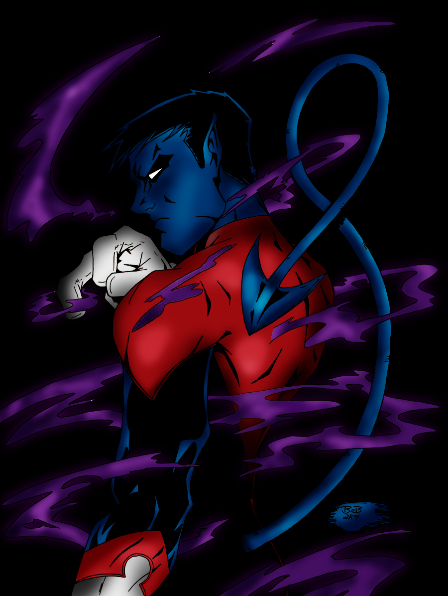Nightcrawler Colored by zulu94