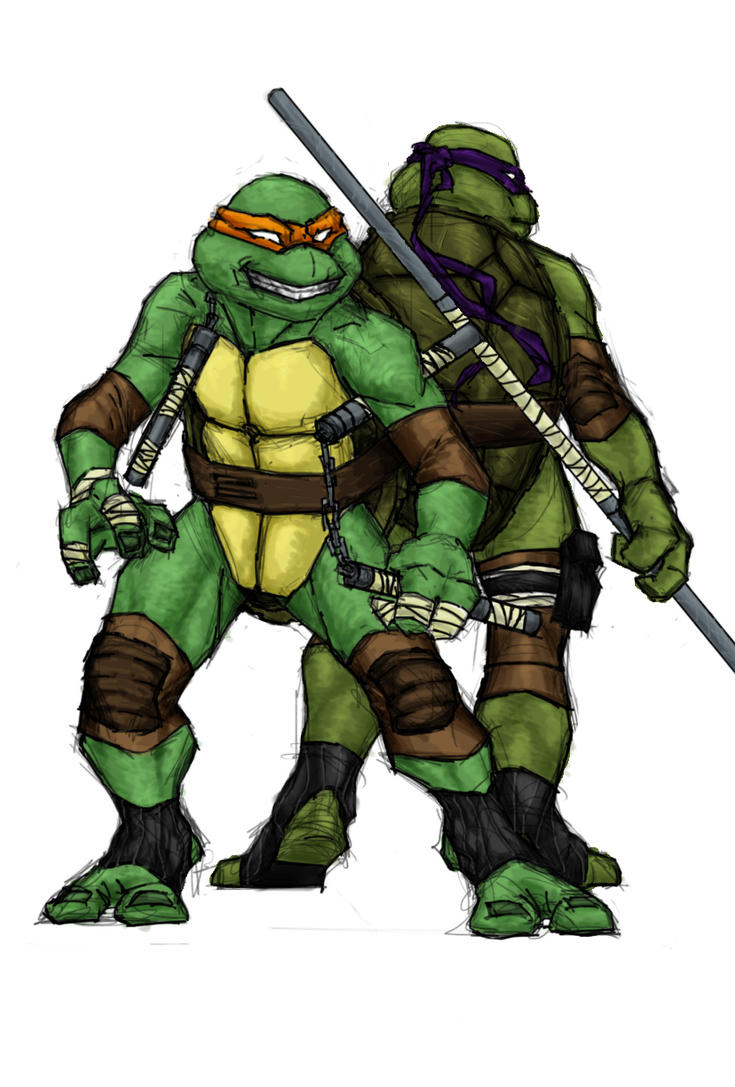 TMNT The Younger Siblings by TheDayTripper