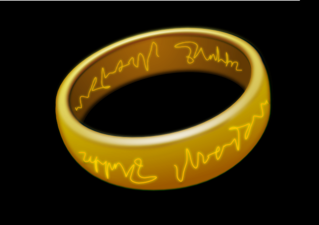 Lord Rings Inkscape 0.45 by valessiobrito